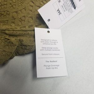 Auden Intimates & Sleepwear - Auden Racerback Front Clasp Push-Up Bra Olive